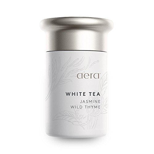 White Tea Perfume Oil - White Tea Scented Home Fragrance, Hypoallergenic Formula With Notes of White Tea, Jasmine, Thyme - Schedule Using App With Aera Smart 2.0 Diffusers - State Of The Art Air Freshener Technology