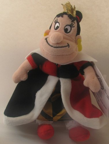 Disney Bean Bag Plush Alice in Wonderland Queen of Hearts 8