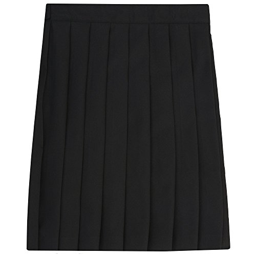 French Toast Big Girls' Pleated Skirt, Black, 14 ()