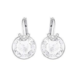 Swarovski Bella Pierced Earrings White One Size