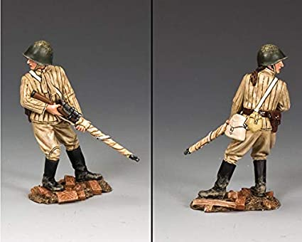 Amazon com: King & Country Toy Soldiers Russian Army RA055 Russian