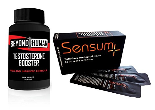 Beyond Human T-Booster | Sensum+ | Essential Oils and Natural Botanicals by Innovus Pharma