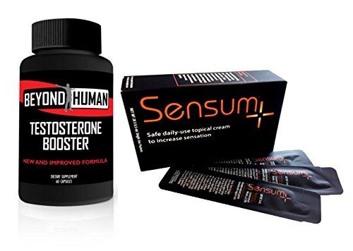 Beyond Human T-Booster & Sensum+ Bundle by Innovus Pharmaceuticals