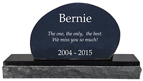 Custom Granite Personalized Engraved Memorial Pet Grave (Marble Grave Markers)