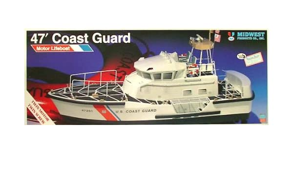 Amazon 47 coast guard lifeboat rc mid986 toys games fandeluxe Gallery