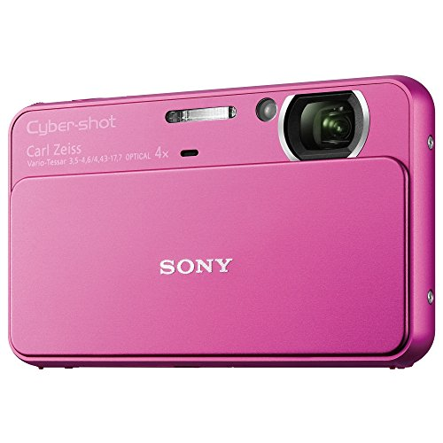 Sony T Series DSC-T99/P 14.1 Megapixel DSC Camera with Super HAD CCD Image Sensor (Pink) Sony Dsc Cd