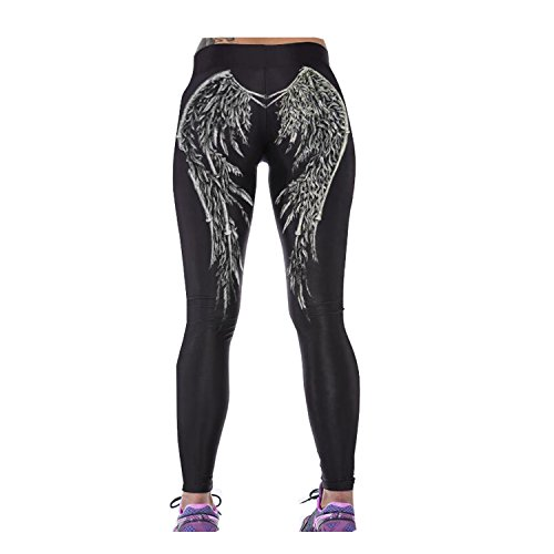 Luck Wang Women's Dry Fit Yoga Pants Jogger Workout Tights(3#) (Slang Of The 1960s)