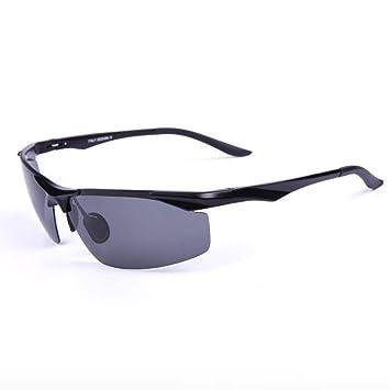 Y-YT Gafas de Deporte Gafas de Sol polarizadas de Las Gafas de Sol Aluminio- magnesio los Hombres para Deportes al Aire Libre, excursiones a pie a: ...