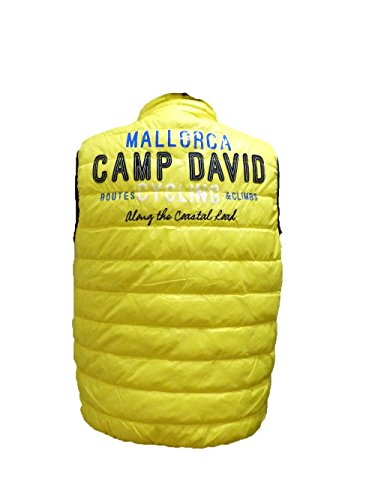 CAMP DAVID VEST SNAPSHOT 1 MALLORCA YELLOW STONE M