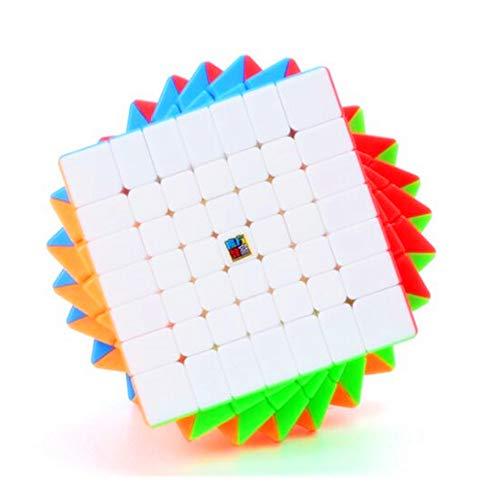 CuberSpeed Moyu MoFang JiaoShi Meilong 7x7 stickerless Magic Cube MFJS MEILONG 7x7x7 Cubing Classroom Meilong 7x7 Speed Cube