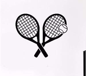 Myvovo Tenis Deporte Tatuajes De Pared De Vinilo Tenis Deportes ...