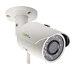 Q-See QCW3MP1B16 3MP/1080p High Definition Wi-Fi Bullet Security Camera, with a 16GB SD Card Included