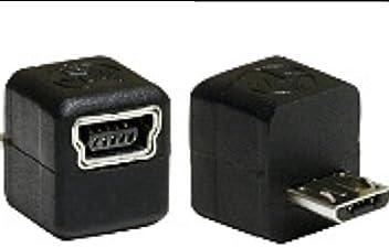 Tomtom Mini B / Mini-b to Micro B USB Adapter, Adapts Any Mini