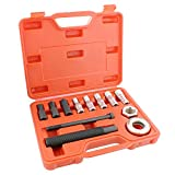 ABN Harmonic Balancer Installer Kit - 12 Piece Harmonic Damper Puller Set Tool Balancer with Adapters