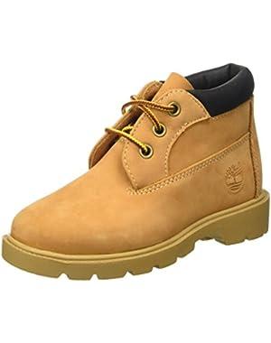 Kids Waterproof Chukka Nubuck Boots