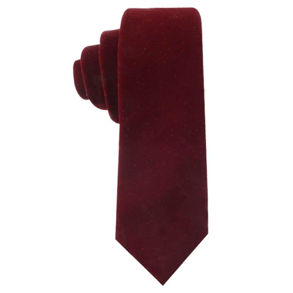 AUSCUFFLINKS - Corbata - para hombre Rojo granate Talla única ...