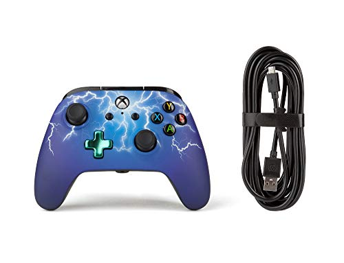 PowerA Enhanced Wired Controller for Xbox One - Spider Lightning 3