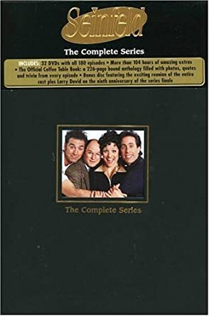 Amazon Com Seinfeld The Complete Series By Sony Pictures Home Entertainment Jerry Seinfeld Jason Alexander Julia Louis Dreyfus Michael Richards Movies Tv