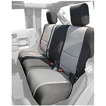 Rugged Ridge 13264.09 Black/Grey Custom Neoprene Rear Seat Cover