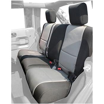 Amazing Rugged Ridge 13264.09 Black U0026 Grey Custom Neoprene Rear Seat Cover