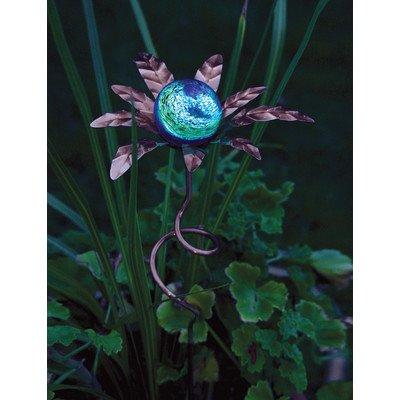 Echo Valley 4206 Palm Illuminaries Glow In The Dark Stake With Globe