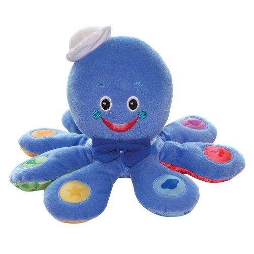 WE-R-KIDS Game / Play Baby Einstein Press and Play Pal Toy, Plush Developmental Friends, Musical Toy, Octoplush Toy / Child / Kid