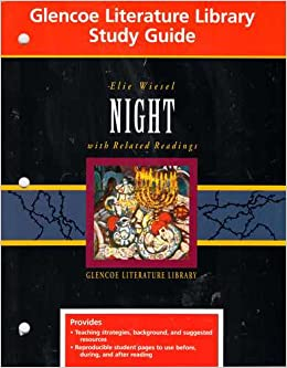 Night study guide glencoe answers youtube.