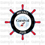 Carnival Cruise Line Magnet | Royal Caribbean Magnet | Celebrity | Holland America | Norwegian Cruise Line | Princess Cruises Magnets | And More