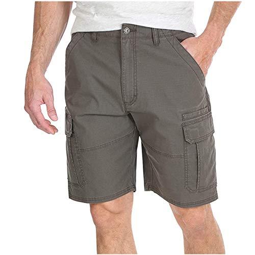 Semoatuc Korte broek heren cargo bermuda shorts joggingbroek sportbroek joggingbroek fitnessbroek sport shorts…
