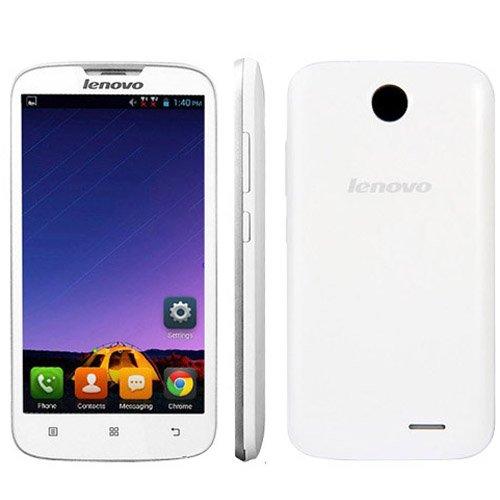 Photo - Lenovo A560 3G Unlocked Phone 5.0 inch Android 4.3 Qualcomm MSM 8212 1.2GHz Quad Core RAM 512MB ROM 4GB WCDMA & GSM Dual SIM (White)