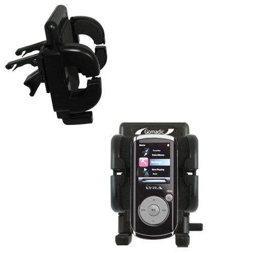 Innovative Vent Cradle Vehicle Mount designed for the RCA M4204 OPAL Digital Media Player - Adjustable Vent Clip Holder for Most Car / Auto Vent ()