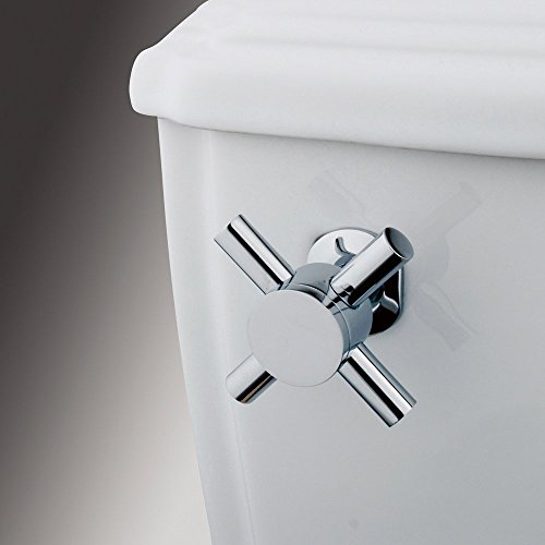 Kingston Brass Concord Toilet Tank Cross Handle - Polished Chrome, Bathroom Plumbing fixtures & Sinks