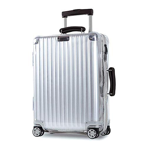 Luggage Skin Protector Clear PVC Transparent Cover, used for sale  Delivered anywhere in USA