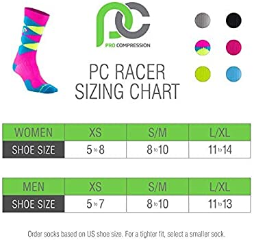 PRO Compression The Official Marathon Socks Made in USA Men and Women