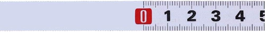 HilMe Cinta M/étrica Port/átil Industrial Accesorios Acero M/étrico Gobernantes Pegatina Medidora Herramienta Autoadhesivo Distancia Carpinter/ía M/áquina de Coser Cuerda A1m - 2m B