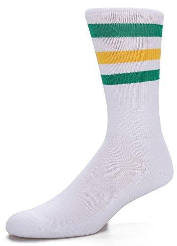 Leotruny Triple striped Calf high Tube Socks