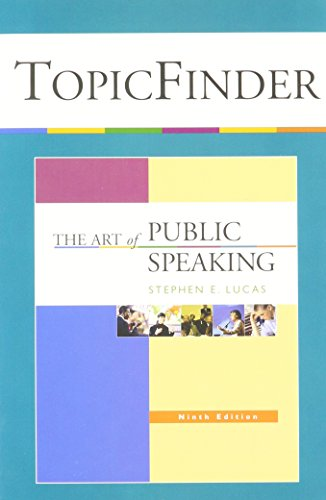 Art of Public Speaking - Topicfinder