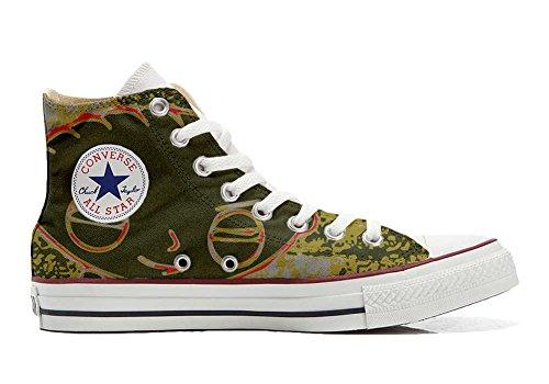 Converse Personalizzate All Star (scarpe personalizzate artigianali) sneakers, unisex-adulto Stewie Griffi
