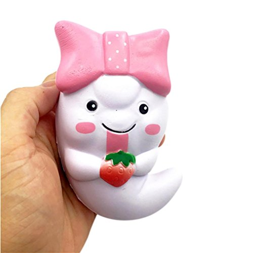 Toys Baby,Todaies 12cm Squishy Cute Ghost Squeeze Slow Rising Fun Toy Halloween Gift Phone Strap 2017 (Play On Words Halloween Costumes 2017)