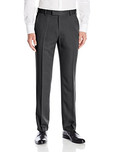 Kenneth+Cole+Reaction+Men%27s+Urban+Heather+Slim+Fit+Flat+Front+Dress+Pant%2C+Medium+Grey%2C+36x34