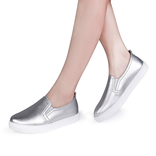 92c11f4f338 Dahanyi Stylish NEW Fashion Women Flats Loafers Casual Leather Shoes Woman Loafer  Slip On Shoes For