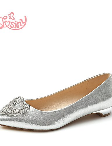 Pdx oro Taln Ballerina De Sinttica Golden de Plano Cn36 Flats Zapatos us6 Casual Piel Plata Eu36 Mujer Uk4 r7rYw