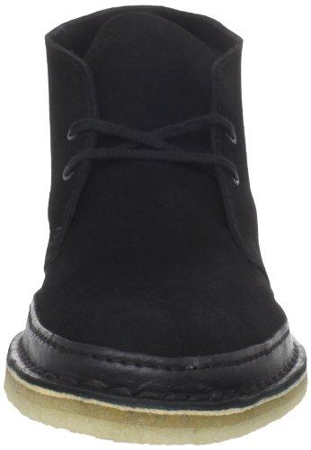 Clarks Desert Boot Guardia con cordones Black Suede