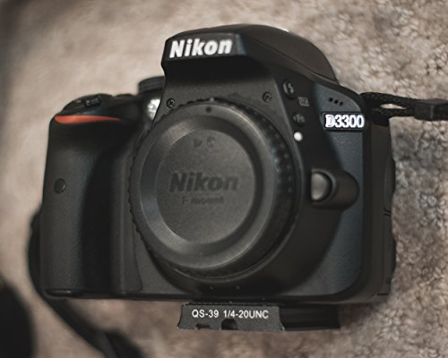 Nikon D3300 Digital SLR Camera Body (Black) - International Version (No Warranty)