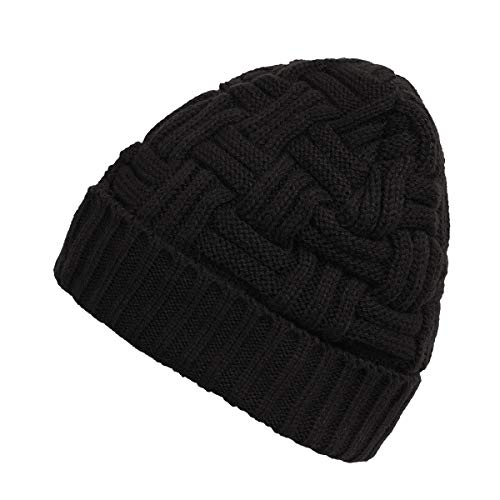 0b4cdda3939 Zando Men s Winter Slouchy Beanie Hat Warm Knit Cap Wool Baggy Skull Cap  Soft Knitted Caps