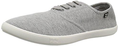 Billabong Women's Addy Lace Up Shoe Heather Grey 8h