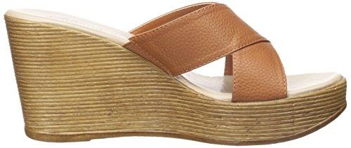 Athena Alexander Women's Rialto Wedge Sandal, Sparkle, 5 M US Saddle