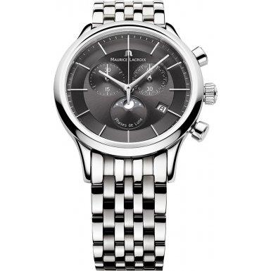 Maurice Lacroix LC1148-SS002-331 Mens Les Classiques Phase de Lune Watch