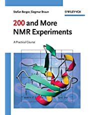 200 and More NMR Experiments: A Practical Course