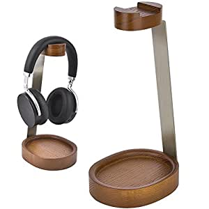 Amazon.com: Elekele Wooden Headphone Stand Hanger for Sony